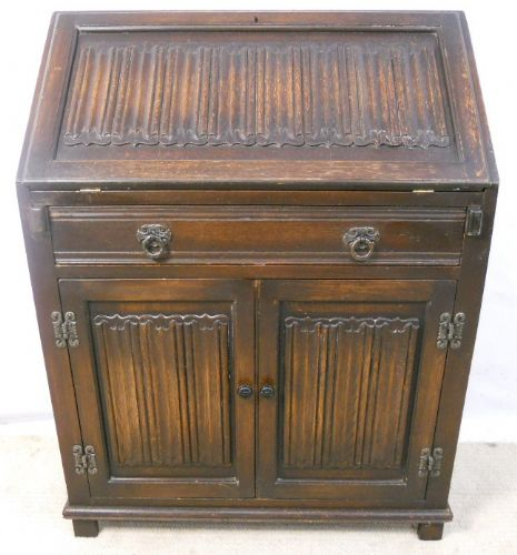 Carved Writing Bureau by Old Charm
